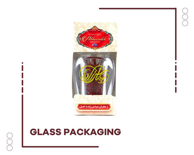 Saffron Glass Package