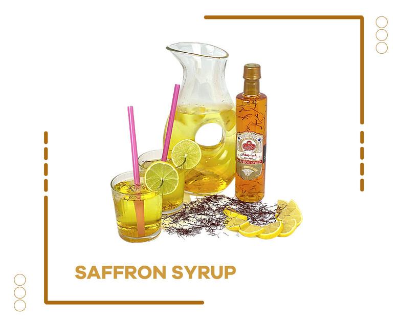 Saffron Syrup