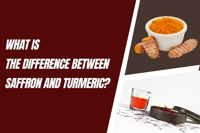 Difference Between Turmeric and Saffron