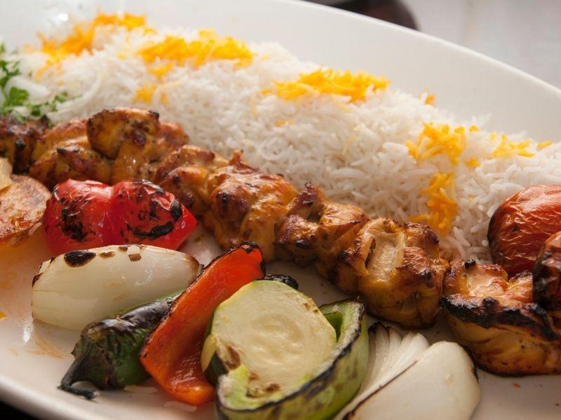 kabab saffron